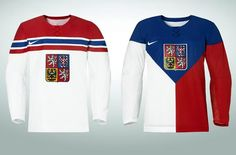 International Ice Hockey Federation czech republic jersey - Google Search
