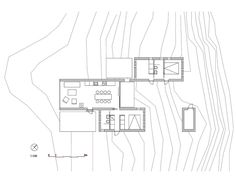 House Plans Under 100 Square Meters: 30 Useful Examples,Micro Cluster Cabins / Reiulf Ramstad Arkitekter