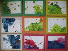 Turn Paintings into Thank You Cards