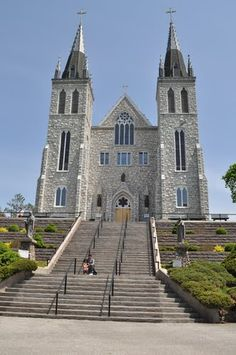 The Martyrs' Shrine is a Roman Catholic church in Midland, Ontario, Canada, which is consecrated to the memory of the Canadian Martyrs, six Jesuit Martyrs and two lay persons from the mission of Sainte-Marie among the Hurons. It is one of three national shrines in Canada, along with St. Joseph's Oratory in Montreal and the Basilica of Sainte-Anne-de-Beaupré.