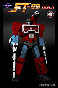 Fans Toys Tesla (Masterpiece style Perceptor)  I needs this