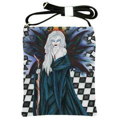 """""""Checkerboard Sorcery"""" Shoulder Sling Bag via ArtsNow.com"""