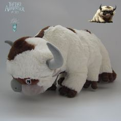AVATAR-Last-Airbender-APPA-Stuffed-Plush-Doll-Large-Soft-Toy