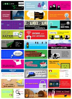 Key Tips for Staying Safe Online - fantastic infographic! http://www.edudemic.com/google-recommends-stay-safe-online/
