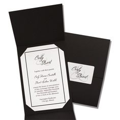 Presentation Wedding Invitations by TheAmericanWedding.com