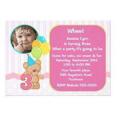 380 3rd birthday party invitations