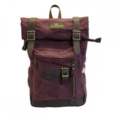 77d32629dbba Backpacks. Red Bordeaux Waxed Authentic Bali Backpack. Gandys London
