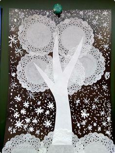 Winter Crafts For Kids Winter Art Projects, Winter Crafts For Kids, Diy Crafts For Kids, Art For Kids, Kindergarten Crafts, Preschool Crafts, Xmas Crafts, Paper Crafts, 3d Christmas