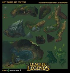 Riot Art Contest - Final Den Presentation Texture Sheet by Jesse Carpenter on ArtStation. Environment Concept Art, Environment Design, Texture Art, Texture Painting, Game Textures, Hand Painted Textures, Mobile Art, Prop Design, Background Tile