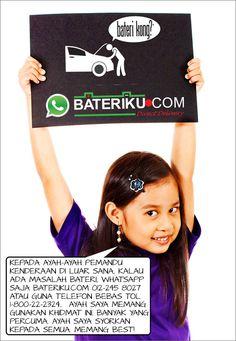 Bateri kong? Whatsapp Bateriku.com Penghantaran Bateri kereta ke lokasi. Pemasangan Percuma. #bateri murah cheap battery #bateri kereta car batteries #Shah Alam & Klang Valley