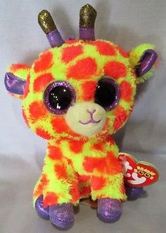 Ty 19203  Darci The Giraffe - Ty 6 Beanie Boos New With Mint Tags - Justice  Exclusive -  BUY IT NOW ONLY   18.5 on  eBay  darci  giraffe  beanie   justice   ... 71eb1235434a