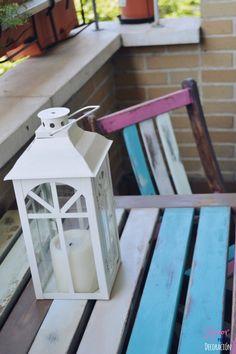 Blog de decoración, DIY (hazlo tú mismo), fotografía, ferias de vintage y antigüedades, entrevistas y tiendas molonas de Madrid Chalk Paint, Madrid, Painting, Love, Home, Diy Decorating, Terrace, Tents, Pintura