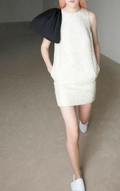 Jacquard Bow Dress by Giambattista Valli for Preorder on Moda Operandi