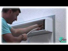 Tutoriel Baticoach : Pose d'un moteur de volet roulant sur une fenêtre PVC - YouTube