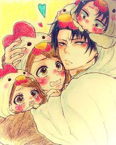 Photo: Omg that is so cute ;-; #rivetra #levi #petra #shingekinokyojin