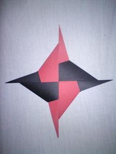 Cool Ninja Star Origami