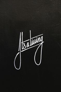 """its-a-living: """"""""It's a living"""" White UniPaint marker by: It's a living © Instagram: @itsaliving """""""