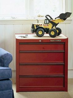 Toolbox for toy storage