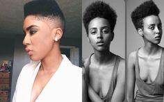 Natural Hair Cut Shapes