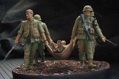 Coming back from the combat | Dioramas and Vignettes | Gallery on Diorama.ru