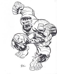 Bruce Timm - The Hulk