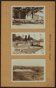Islands - Rikers Island - [Riker's Island Chapel - Miniature golf course - Baseball diamond - Old prisoners' row.]