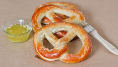 Worlds Greatest Soft Pretzel from Jo Cooks. I used to have a good pretzel recipe but lost it.  Will try this one.