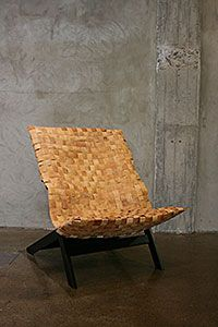 Wilhelmiina Kosonen: BBKING, The seat is made of wood : ) Made Of Wood, Finland, Contemporary Design, Home Accessories, Roots, Furniture Design, Chairs, Backyard, Traditional