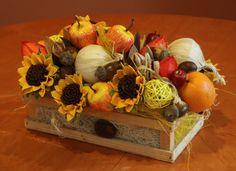 Jesienny kompozycja z suszu. www.kaja.lebork.pl  #fall #centerpiece #arrangement