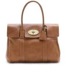 I hope to someday be classy enough to carry one of these! Mulberry Bayswater Leather Bag.
