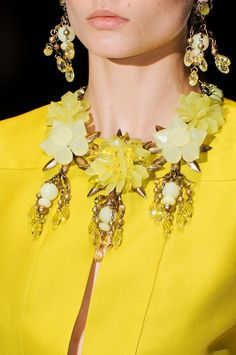 Gucci Ready To Wear Spring Summer 2013 #yellow
