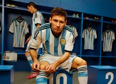 Argentina 2014 World Cup adidas Home Jersey
