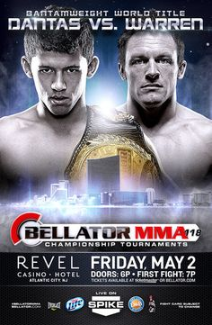 Bellator 118: Dantas vs. Warren Ergebnisse - Results