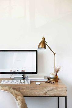 Desk office space