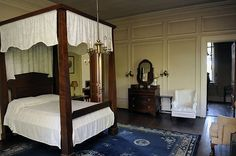 The last owner's bedroom