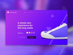 Website — UI Exploration