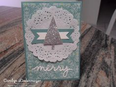 Carolyn's Card Creations: Lost Lagoon Christmas Card