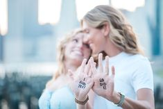 22 Cute Engagement Announcement Ideas You'll Want to Copy - Trust us—you won't want to spill the beans until you've seen these cute and creative engagement announcement ideas. hand palms handwritten marker i said yes {A Sweet Focus Photography} Cute Couple Quotes, Cute Couple Pictures, Cute Couples Cuddling, Cute Couples Texts, Cinque Terre, Creative Engagement Announcement, Best Marriage Proposals, Proposal Videos, Proposal Photos