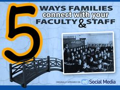 5 Ways Families Connect with Your Faculty & Staff - by Randy Vaughn, edSocialMedia Contributor