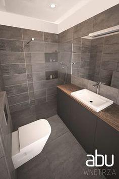 bathroom in Radom, scandinavian design
