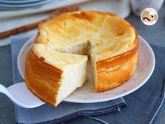Gâteau au fromage blanc - Page 2 sur 2 - Tasties Foods Cheesecake Recipes, Dessert Recipes, Guisado, Food Cakes, Flan, Sin Gluten, Muffins, Sweet Tooth, Bakery