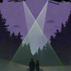 The X Files Fan Art by Monica McCain | The X Files