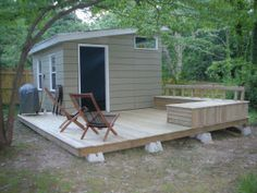 ---This is kinda what I want to do... shed/deck