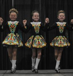 Dancers from the Hunt School of Irish Dance perform a dance known as the Reel at the Annapolis Irish Festival.