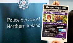 Scots could help solve 1988 murder in Northern Ireland -  NC  No one has been convicted of Inga's murder but police have claimed that the net is closing  Inga Maria Hauser who was 18 was last seen on a journey by ferry from Scotland to Northern Ireland on April 6 1988.  Her body was found in a remote part of Ballypatrick Forest on the outskirts of Ballycastle Co Antrim a fortnight later.  No one has been convicted of her murder but police have claimed that the net is closing.  The senior…
