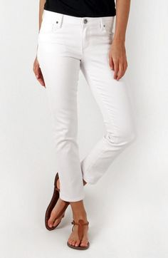 Reese Ankle Jeans by Kut from the Kloth - White