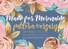 One of my favorite pattern shops is having a huge anniversary sale! www.madeformermaids.com/?affiliates=11603