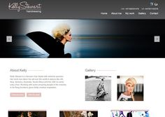 Kelly Stewart Hairdressing web design by Adeo Group  #webdesign  http://www.kellystewarthairdressing.com/
