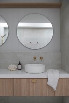 Nothing beats a round bowl when you're looking to create a coastal style bathroom. Our Coastal Ensuite features the Celine Matte White Basin from ABI Interiors. Whatever the style of your new home or reno, choose products to complement that style. It's all the little details combined that result in a designer look, and take your home to the next level. Follow us on Instagram and Pinterest for all the latest design tips, trends and products for designing and styling your home.