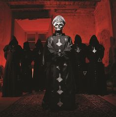 The Swedish metal lords Ghost BC will be here on 8/3 for an official Lolla aftershow with Skeletonwitch.